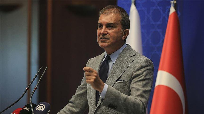 Ömer Çelik'ten Erdoğan'ı hedef alan Yunan gazetesine tepki