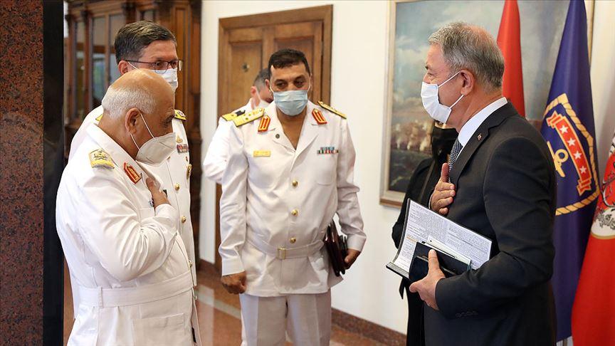 Bakan Akar: BM tarafından tanınan Libya'daki meşru hükümetin yanındayız