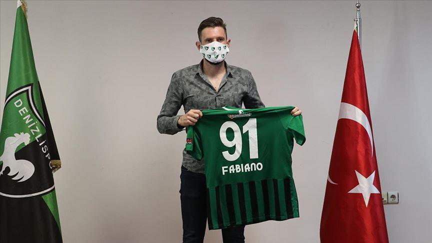 Yukatel Denizlispor Fabiano Leismann ile 2 yıllık sözleşme imzaladı