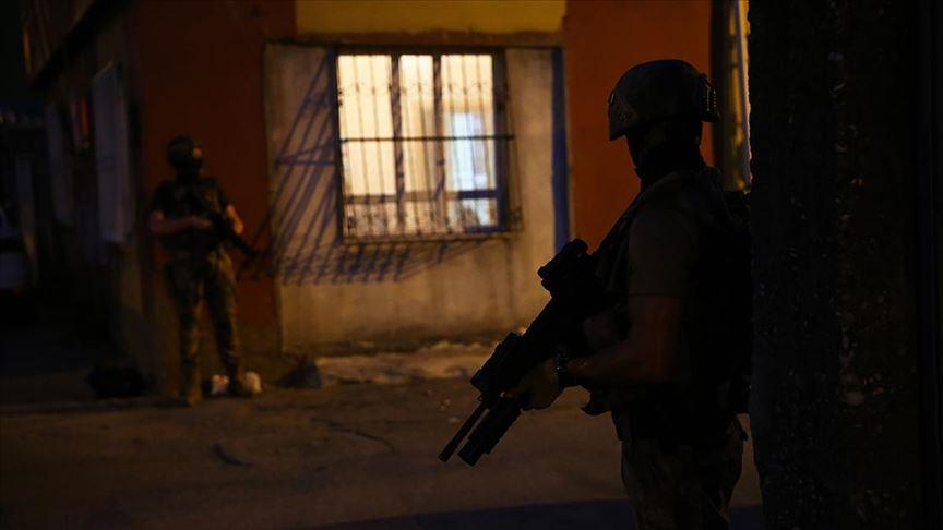 PKK ve iş birlikçilerine yönelik operasyonda 9 kişi yakalandı