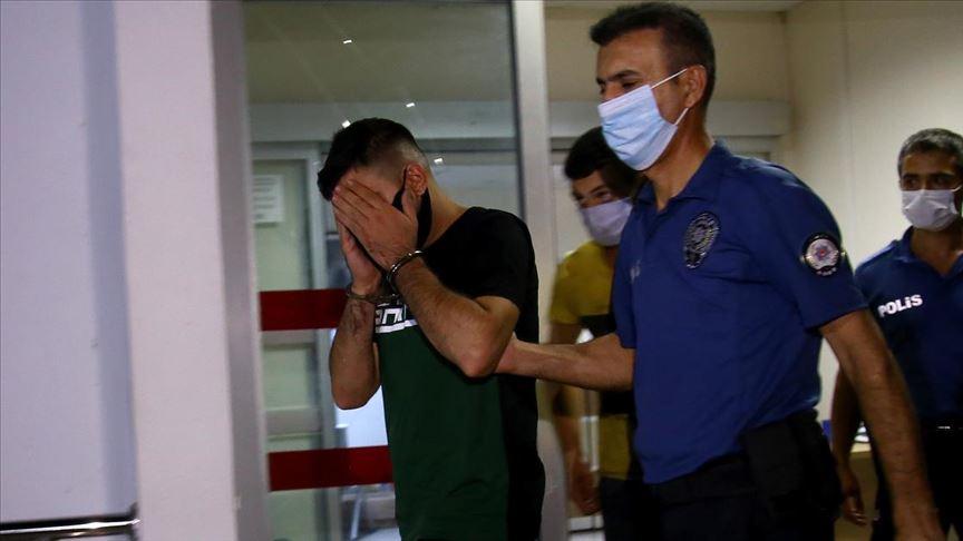 Kız arkadaşını darbeden ve 9. kattaki balkondan sarkıtan kişi operasyonla yakalandı