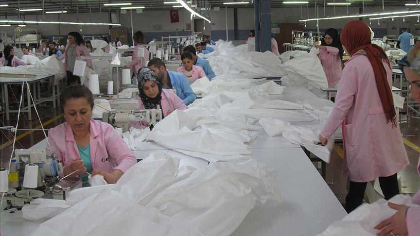 Hazır giyim sektörü Kovid-19 sürecinde yaralarını 'medikal tekstil'le sardı