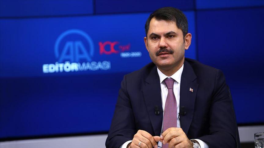 Bakan Kurum: 1 milyon 410 bin konutun dönüşümünü sağladık