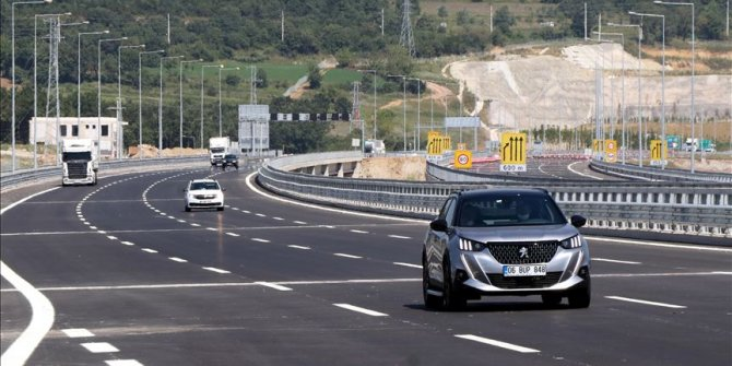 Kuzey Marmara Otoyolu'nun Gebze-İzmit etabı 19 Eylül'de açılıyor
