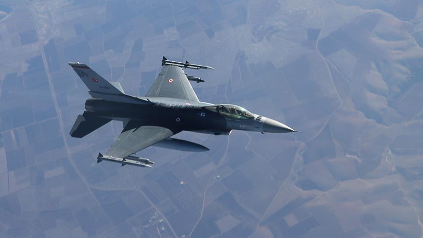 PKK'lı 2 terörist hava harekatıyla etkisiz hale getirildi