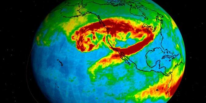 California'daki orman yangınlarından yükselen dumanlar Kuzey Avrupa'ya ulaştı