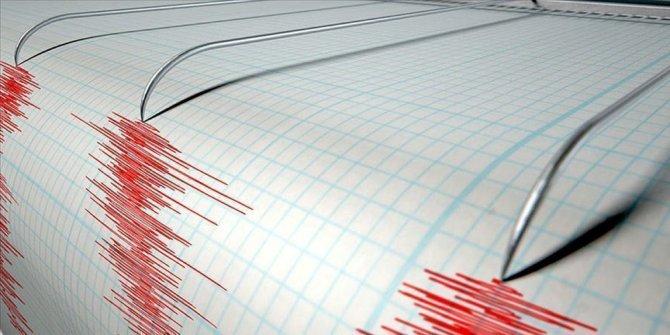 Akdeniz açıklarında deprem