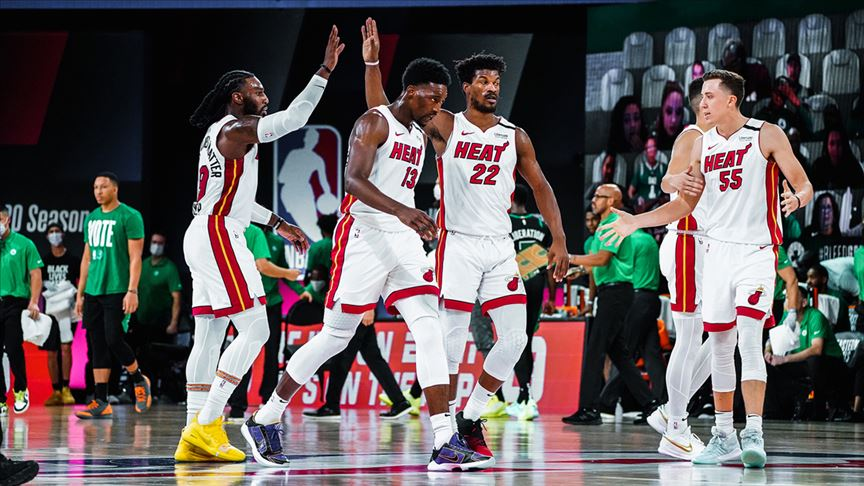 Miami Heat, Celtics karşısında 2-0 önde