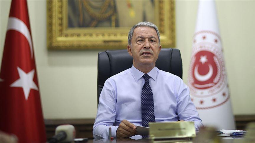 Bakan Akar: Yunanistan'la istikşafi görüşmelerde bir oldubittiye boğun eğmeyeceğimizi herkes anlamalı