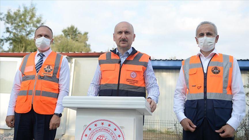Kuzey Marmara Otoyolu 5. Kesim yarın açılacak