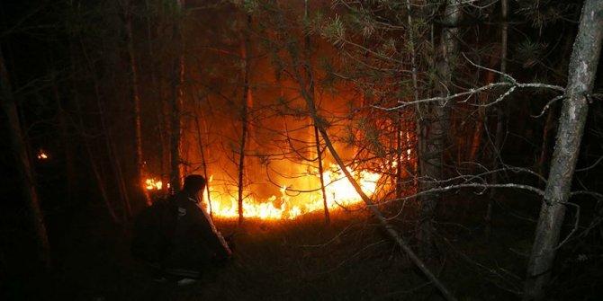 Kastamonu'da ormanlık alanda çıkan yangın kontrol altına alındı
