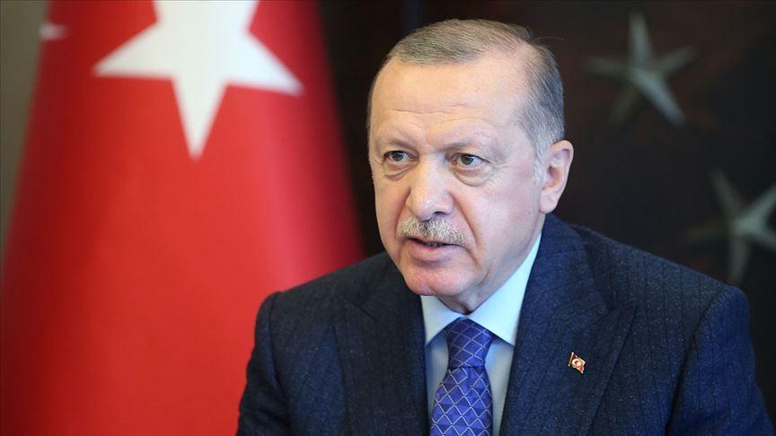 Cumhurbaşkanı Erdoğan, Musevi vatandaşların Roş Aşana Bayramı'nı kutladı