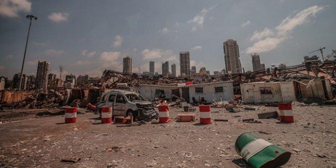 Beyrut Limanı'ndaki patlama sonrası kaybolan 9 kişi hala aranıyor
