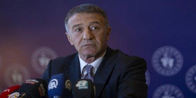 Ahmet Ağaoğlu'ndan hakem ve TFF tepkisi