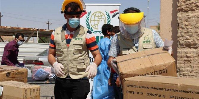 İHH'den, Irak'ın Kovid-19 ile mücadelesine destek