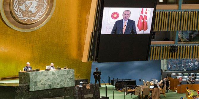 Cumhurbaşkanı Erdoğan'ın İsrail eleştirilerini duyunca salonu terk etti!