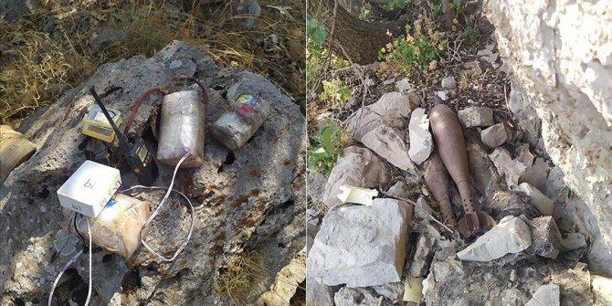 PKK'ya ait mühimmat ve yaşam malzemesi ele geçirildi