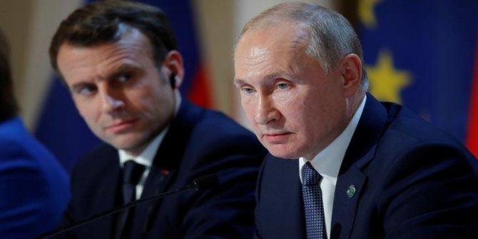 Putin-Macron görüşmesi Fransız basınına sızdırıldı, Rusya tepki gösterdi
