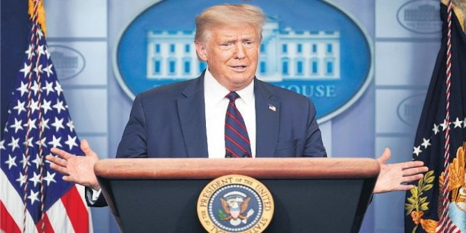 Trump 'ihaneti bitirdim' diyerek duyurdu