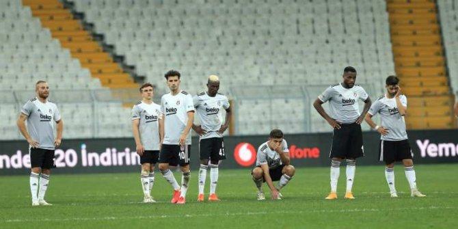 Beşiktaş Avrupa Ligi'ne veda etti!