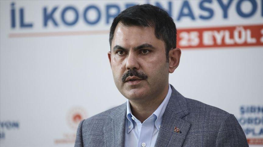 Çevre ve Şehircilik Bakanı Kurum: Deprem terör kadar tehlikeli