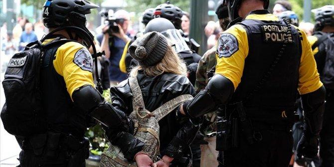 ABD'nin Portland kentindeki protestolarda 14 kişi gözaltına alındı