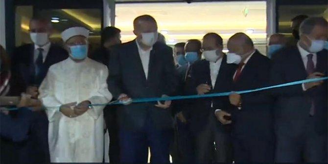 Cumhurbaşkanı Erdoğan, Hacı Ahmet Ziylan Eğitim Merkezi'nin açılışını yaptı