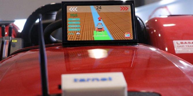 Çiftçi uydu verilerine göre traktör kullanacak