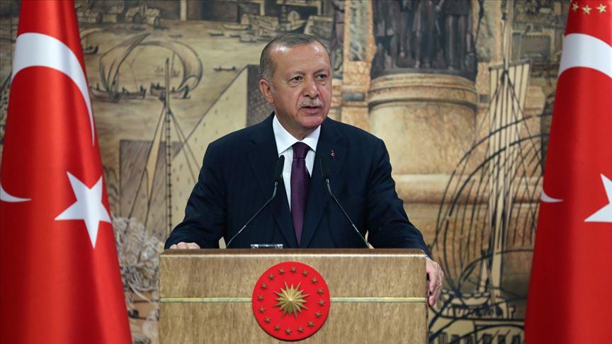 Cumhurbaşkanı Erdoğan: 'Türkiye kardeş Azerbaycan'ın yanındadır'