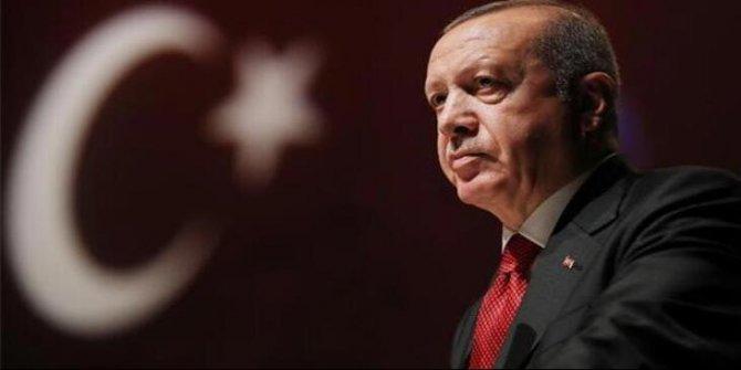 Ortak bildiriye Cumhurbaşkanı Erdoğan'dan teşekkür