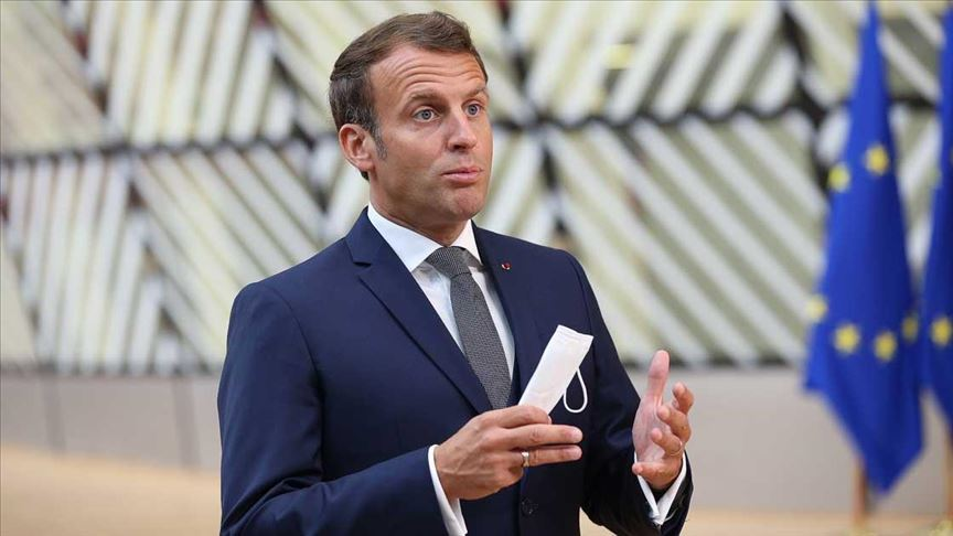Macron: Avrupa Parlamentosu sadece Brüksel'de toplanırsa mahvoluruz