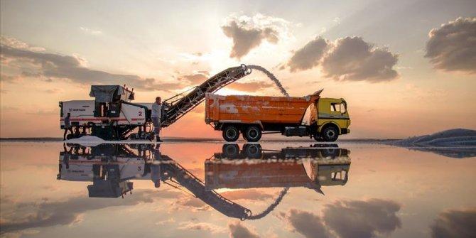 Konya'dan 60 ülkeye tuz ihracatı