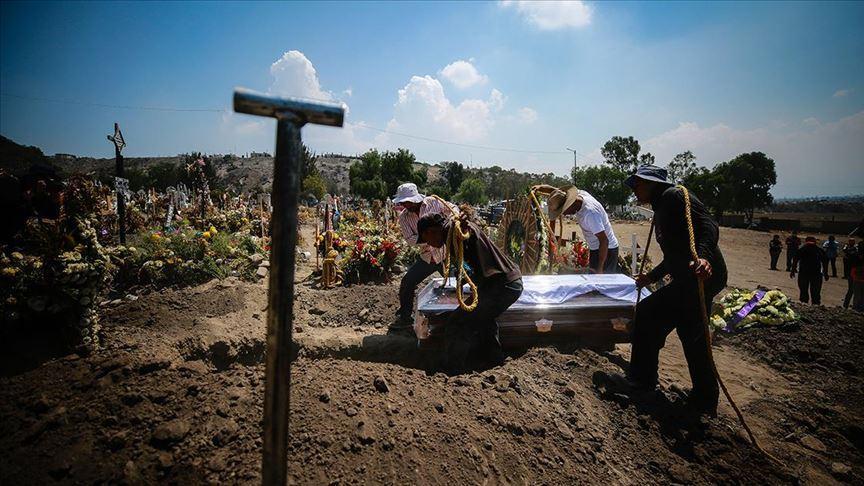 Hindistan'da 1181, Brezilya'da 1031, Meksika'da 483 kişi daha Kovid-19'dan öldü