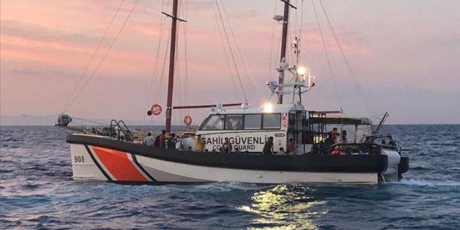 Sahil güvenlik ekiplerince son bir haftada 214 düzensiz göçmen kurtarıldı