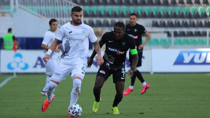 Denizlispor Konyaspor maçında gol sesi çıkmadı