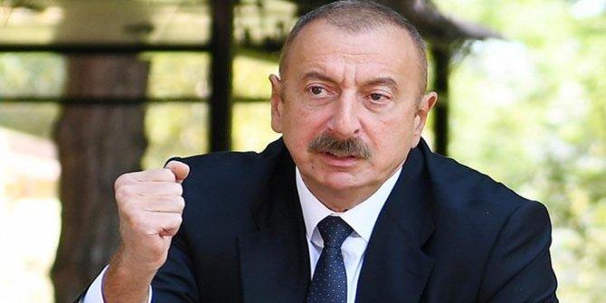 Aliyev'den operasyon açıklaması