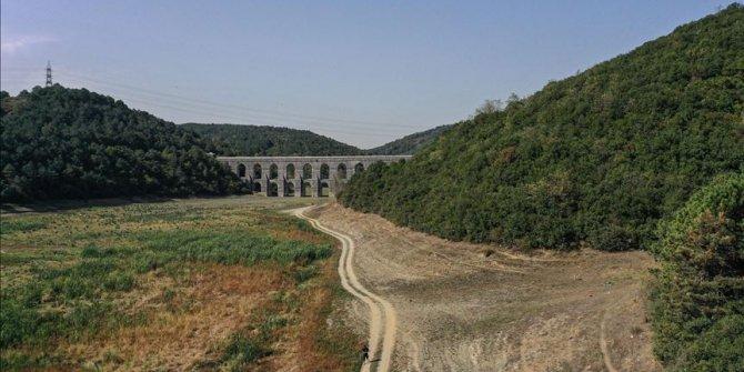 İstanbul'un barajlarındaki doluluk oranı yüzde 35,7 seviyesinde