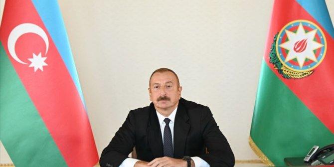 Azerbaycan Cumhurbaşkanı Aliyev: Türkiye Karabağ'daki çözüm sürecinde yer almalıdır