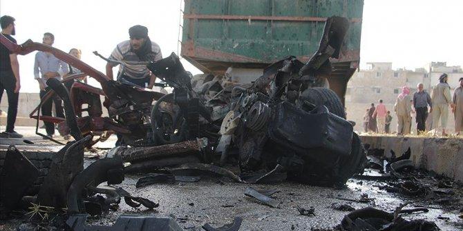 Bab'da bombalı saldırı: 7 ölü, 20 yaralı
