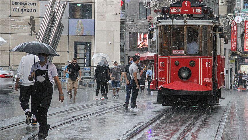 Meteorolojiden bazı iller için yağış uyarısı