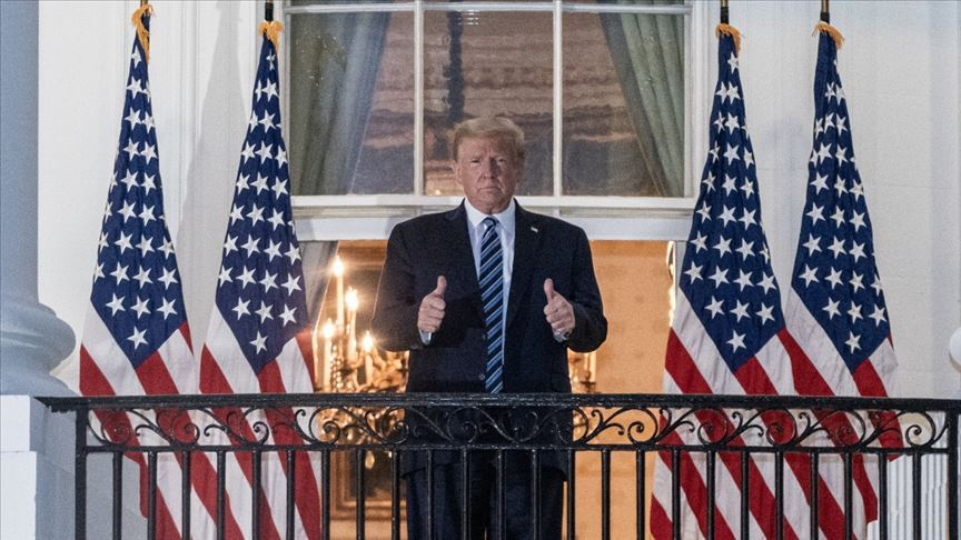 ABD Başkanı Trump'tan videolu mesaj