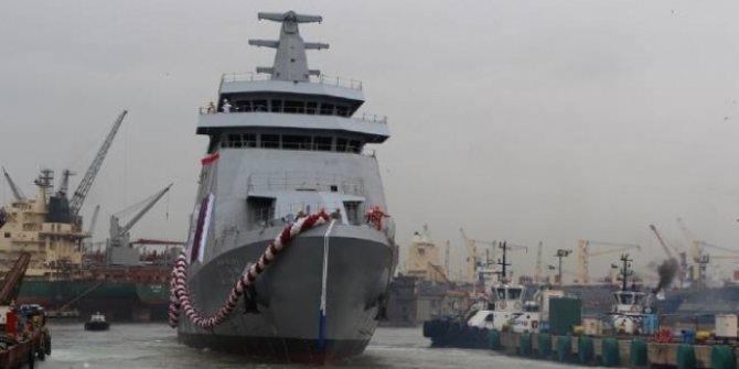AL-DOHA gemisi denize indirildi