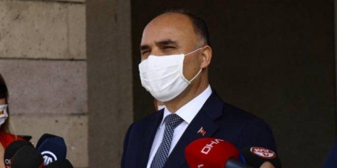 Kayseri Valisi: Sigara içmek için maskeyi çıkaranlara 900 lira ceza