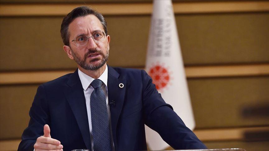 İletişim Başkanı Altun: Kıbrıs Türklerinin milli iradesine saygı duyun