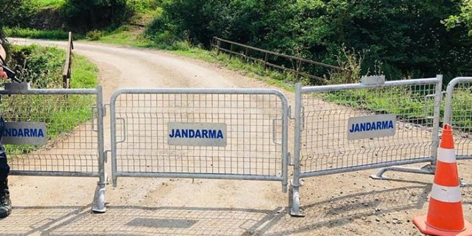 Kastamonu'da 1 köy karantinaya alındı