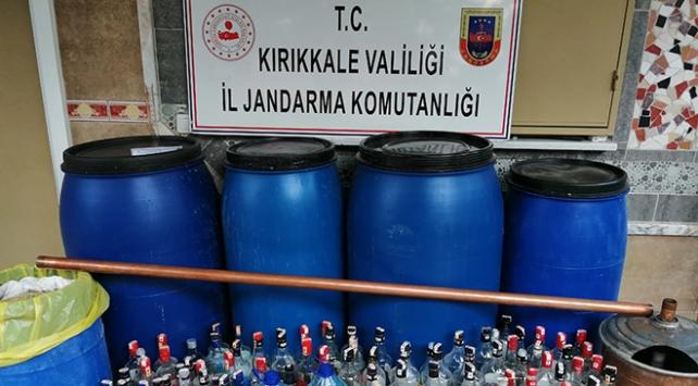 Kırıkkale'de 4 bin 819 litre sahte içki ele geçirildi: 11 gözaltı