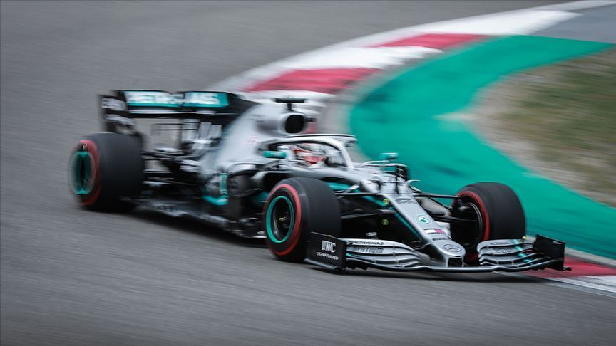 F1 Almanya Grand Prix'sinde pole pozisyonu Bottas'ın