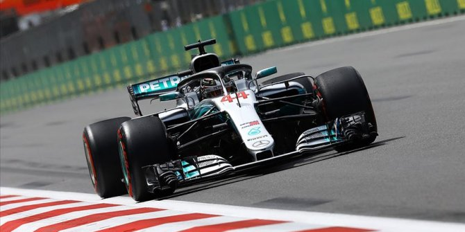Hamilton Schumacher'in rekorunu egale etti
