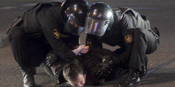 Belarus'taki protestolarda 713 kişi gözaltına alındı