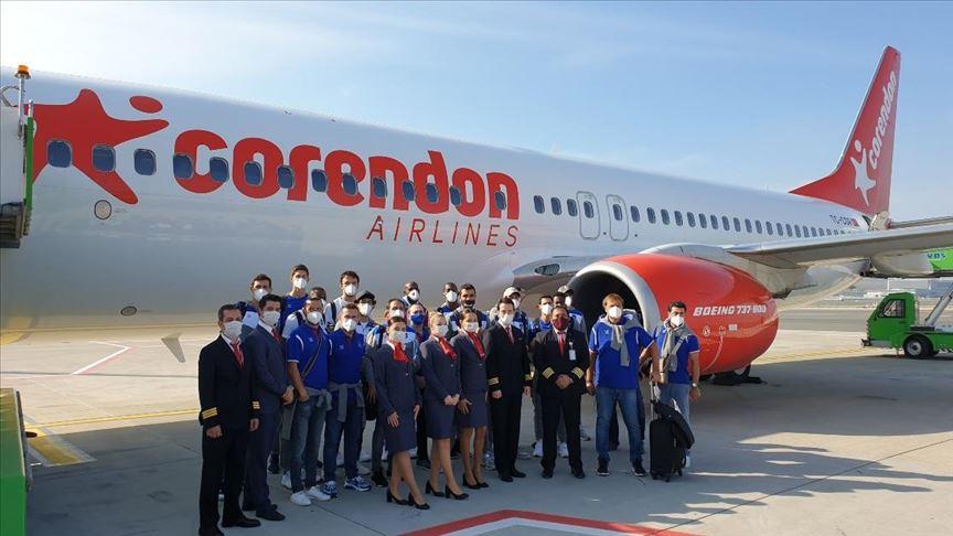 Anadolu Efes, THY Avrupa Ligi maçı için Almanya'ya gitti
